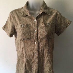 Eddie Bauren short sleeve shirt, Size XS
